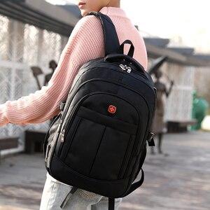Image 5 - Mochila masculina sacos de viagem masculino multifuncional 15.6 polegada portátil à prova doxford água oxford computador mochilas para adolescente menino