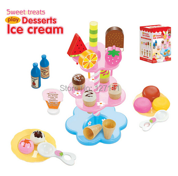 Play Kitchen Clipart Childu0027s Toys Set Sweet Treats Desserts Ice Cream Classic Pretend