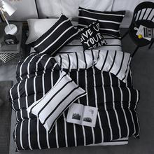 Bedding set Superfine Fiber Winter Thickening  bed linens 3/4pcs duvet cover set