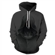 Women/Men Sport Hoodies Azrael Death 3D Print Sweatshirts Long Sleeve Sportwear Loose Tops Autumn Winter Pollover Hooded Sweater