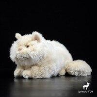 Soft Toys Present Persian Cat Stuffed Animal Real Life Plush Toys Birthday Gift Dolls Women
