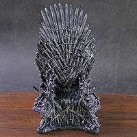 16/30cm Action Figure Sword Chair Model Toys A Song of Ice and Fire The Iron Throne Resin Desk Collection Gift