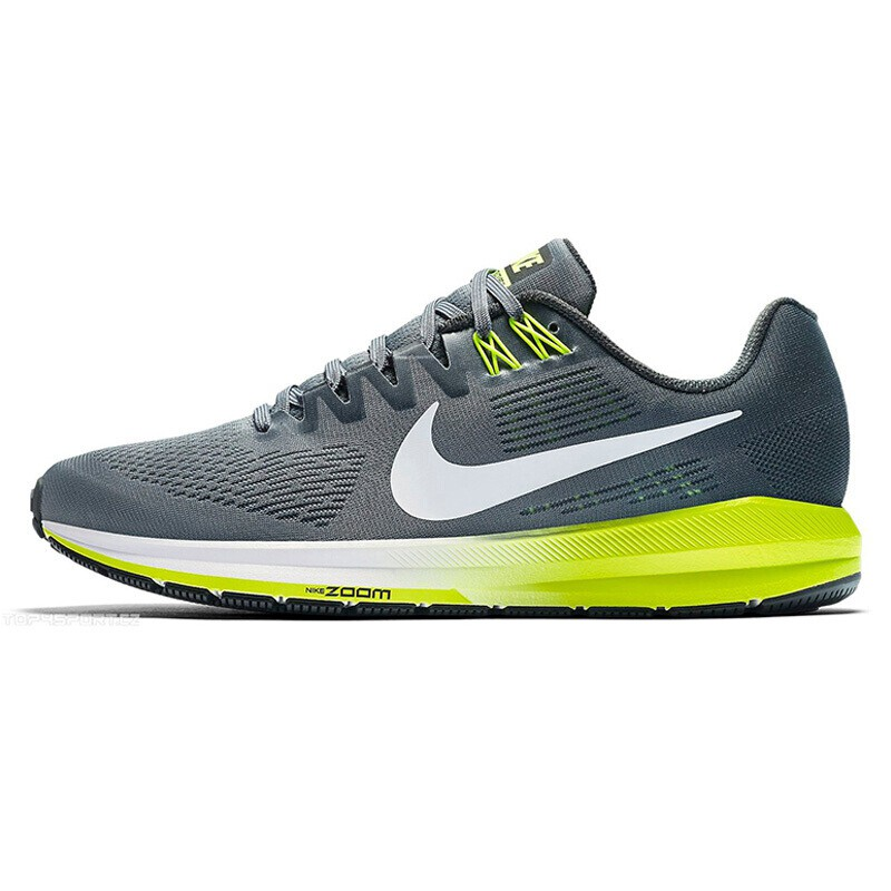 the latest 44d65 4c526 US $139.7 22% OFF Original New Arrival 2019 NIKE AIR ZOOM STRUCTURE 21  Men's Running Shoes Sneakers-in Running Shoes from Sports & Entertainment  on ...