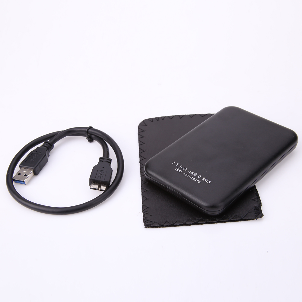 USB 3.0 SATA 2.5 Inch Hard Drive External Enclosure HDD Mobile Disk Box Case