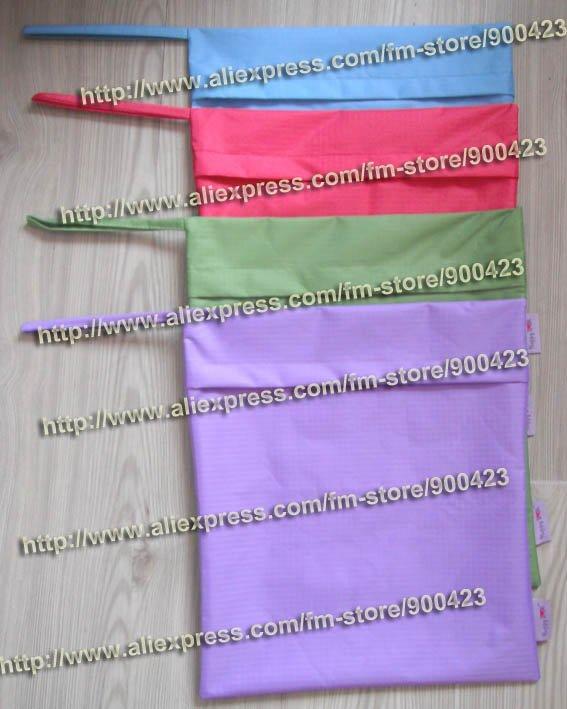 zip waterproof bag wet bag diaper bag 30*35cm