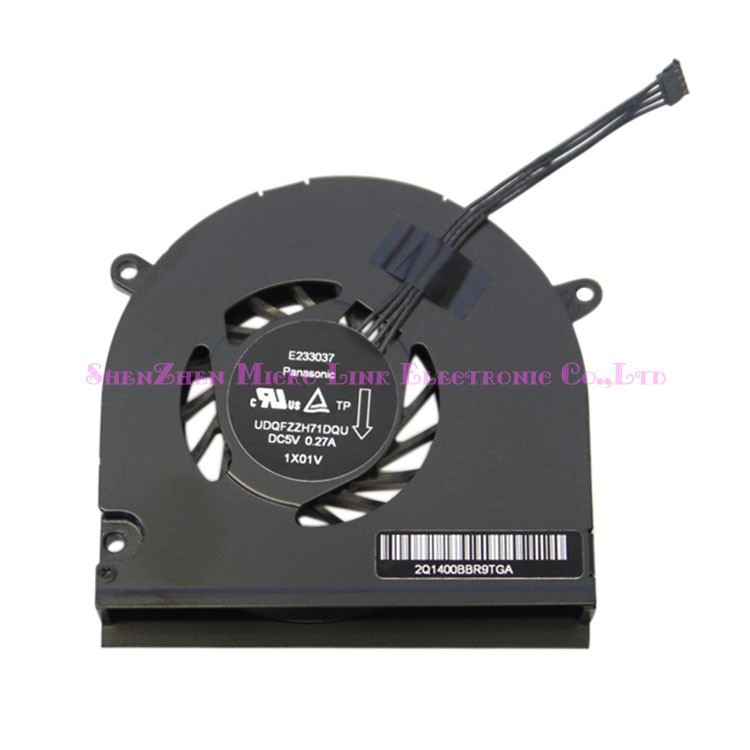 Cooler Fan for Macbook A1278 A1342 13 CPU Cooling Fans P/N:ZB0506AUV1-6A