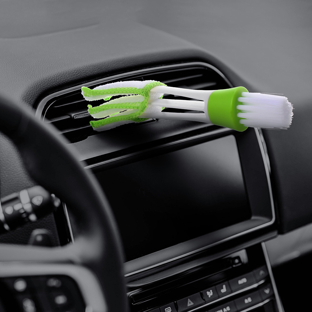 Sponges Cloths & Brushes Car Repair Tools Car Washer Microfiber Car Cleaning Brush For Air-condition Cleaner Computer Clean Tool