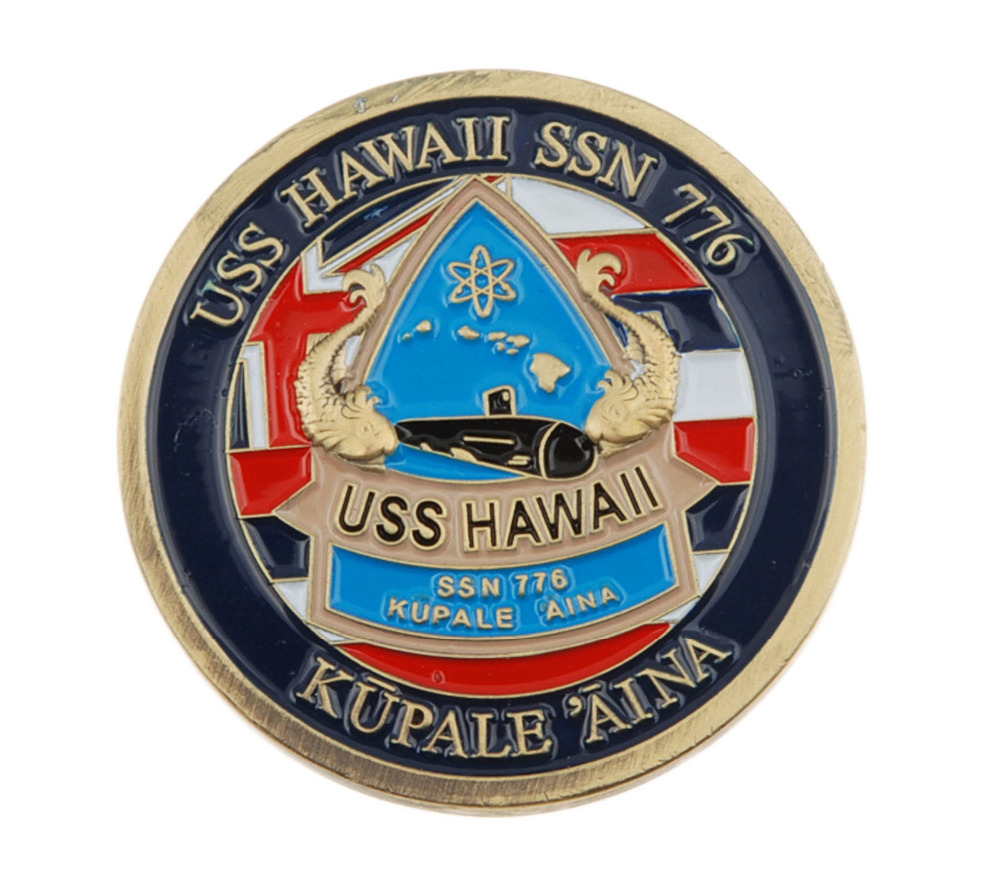 US $6 82 10% OFF|NAVY US USS HAWAII SSN 776 SUBMARINE MILITARY COIN-in  Sports Souvenirs from Sports & Entertainment on Aliexpress com | Alibaba  Group
