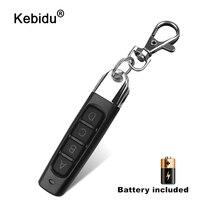 Kebidu 433MHZ 4 pulsanti telecomando duplicatore clonazione cancello per apriporta Garage apprendimento copia Controller trasmettitore