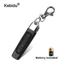 kebidu 433MHZ 4 Buttons Remote Control Duplicator Cloning Gate for Garage Door Opener Learning Copying Transmitter Controller