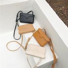 Mini Leather Crossbody Bags For Women Messenger Bag Lady Travel Purses and Handbags Fashion 2019
