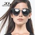 Clássico Quadrado Do Vintage Óculos Polarizados Mulheres Marca Designer Eyewear Gradiente Feminino Óculos de Sol Retro Mulheres Óculos De Sol 7000