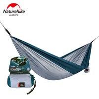 Naturehike Camping Hammock Ultralight Portable Outdoor Leisure Hammock 1 2 People Hanging Sleeping Bed NH17D012 B