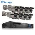 8CH 1080 P 48 V POE NVR Sistema de CCTV 8 PCS 3000TVL 2.0MP 2.8-12mm Lente Zoom Varifocal P2P IP Câmera de Vídeo Ao Ar Livre Kit de Segurança Em Casa