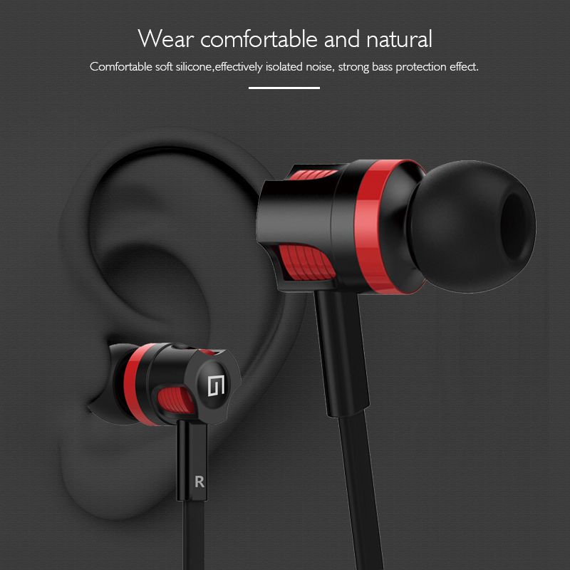 Langsdom GA-3 3.5mm In-Ear Headset with Microphone Earbud HIFI Earphones For Mobile Phone Fone De Ouvido Auriculares Audifonos kz ed8m earphone 3 5mm jack hifi earphones in ear headphones with microphone hands free auricolare for phone auriculares sport