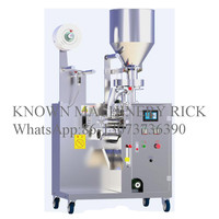 Hot sale soup bag,granules, broken tea and other granular automatic back sealing packaging machine free shipping by sea