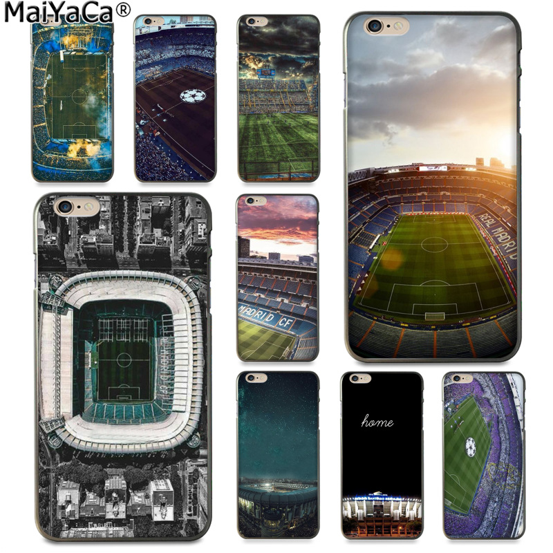 MaiYaCa Santiago Bernabeu Soccer Estadio Luxury Fashion Phone Case for Apple iPhone 8 7 6 6S Plus X 5 5S SE 5C Cover