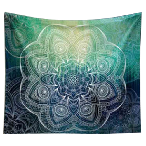 203 153cm Indian Mandala Tapestry Mandragora Big round printing flowers  Printing Beach Towels Yoga
