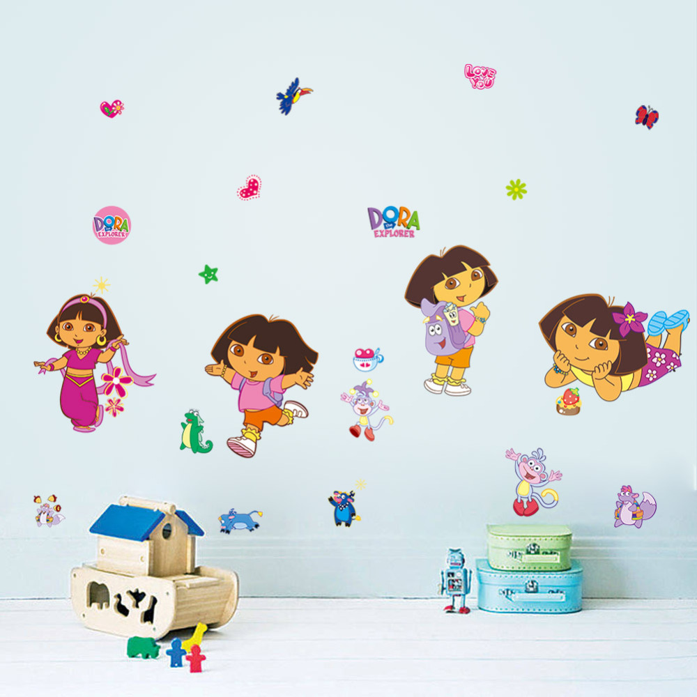 Dora Stickers Reviews Online Shopping Dora Stickers Reviews On Alibaba Group