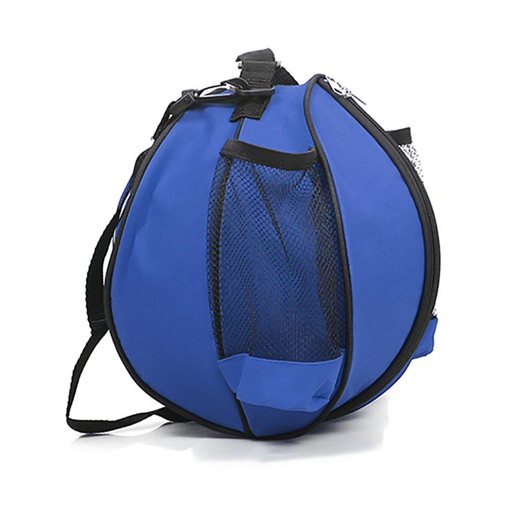 1pc Round Shape Ball Bag Basketball Football Volleyball Backpack Adjustable Shoulder Strap Knapsacks Ball Storage Bag