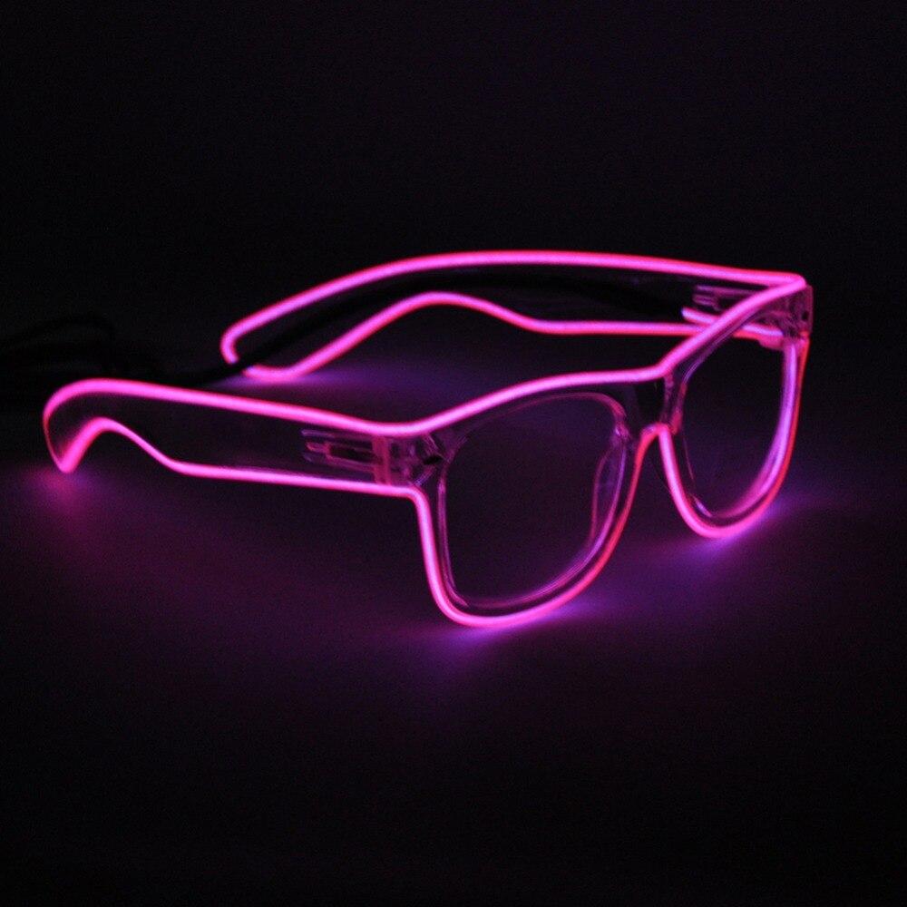 Aliexpress Com Buy 2017 El Wire Glasses Crystal Clear