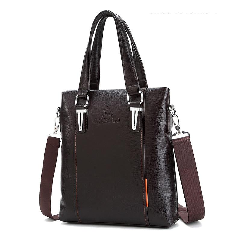 2018 fashion new mens business bag, mens Shoulder Bag Satchel Computer Briefcase