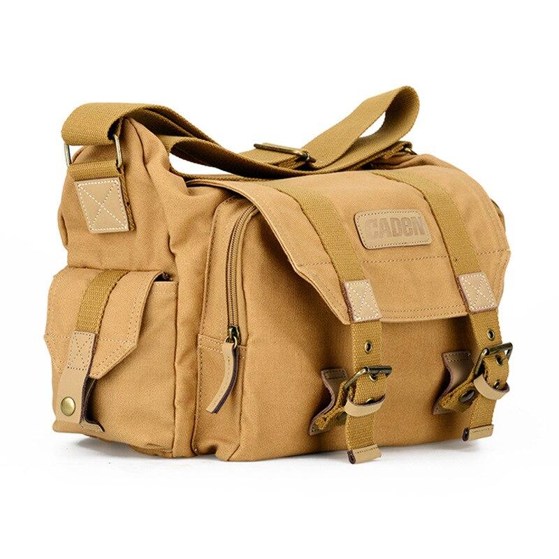 CADeN F1 Canvas Camera Bag Traveling Lens Bag Camera Bag Backpack for Sony Nikon