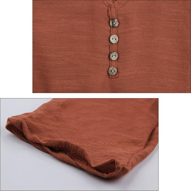 Women's Linen Maxi Dress 5