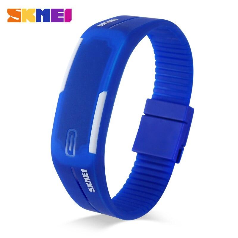 Skmei Young Men And Women Sports Watches Fashion Swim Watch Casual Jelly Digital Wristwatch 1099