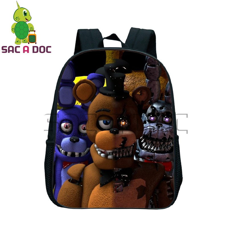 five nights at freddys school bags for children boys