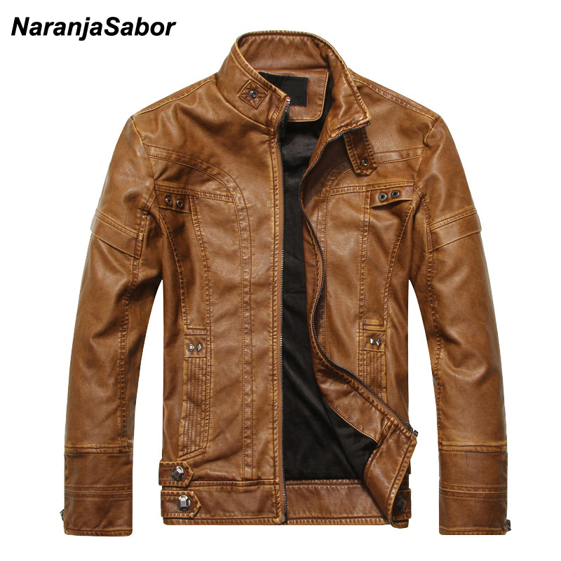 NaranjaSabor-2018-Autumn-Winter-Motorcycle-Leather-Jackets-Men-s-Leather-Coat-Thick-Faux-PU-Jacket-Mens