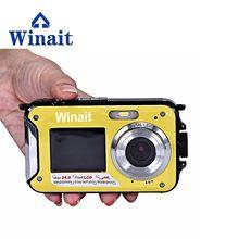 Super Digital Video Camera Full HD 1080P Max 24MP Photo Camera 16x Digital Zoom 3M Under Water Camera Freeshipping