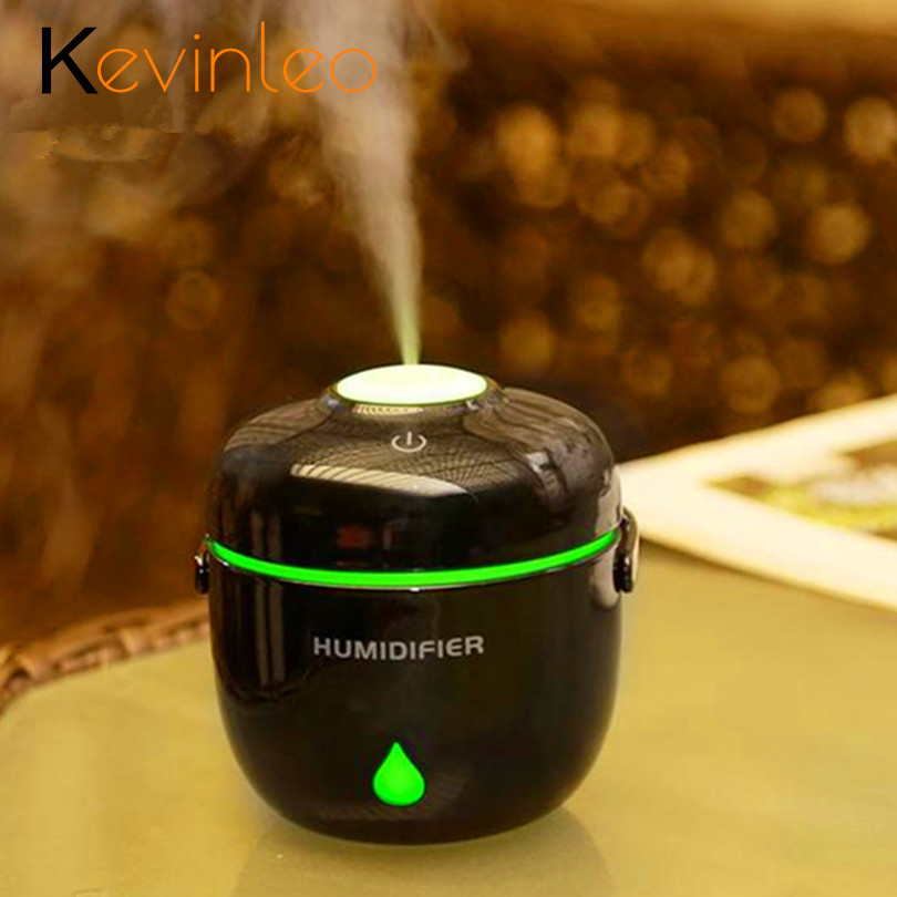Aroma Diffuser Ultrasonic Humidifier 230ml 5V LED Lamp Air Diffuse Atomizer Aromatherapy Home Office