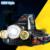 CREE XM-L T6 + R5 Zoomable LED Farol Farol 8000Lm 4-Mode Recarregável Cabeça luz Da Tocha para a Caça de Acampamento