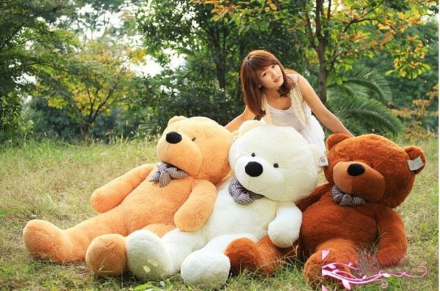 Freeshipping Large 1.6 Meters Teddy Bear, Lovers Big bear Arms Stuffed Animals Toys Plush Doll ,retails