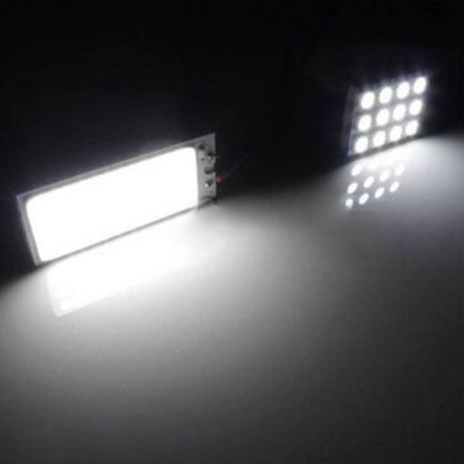 kongyide Healight Bulbs 2pcs Xenon HID 36 COB LED Dome Map Light Bulb Car Interior Panel Lamp 12V NOV10