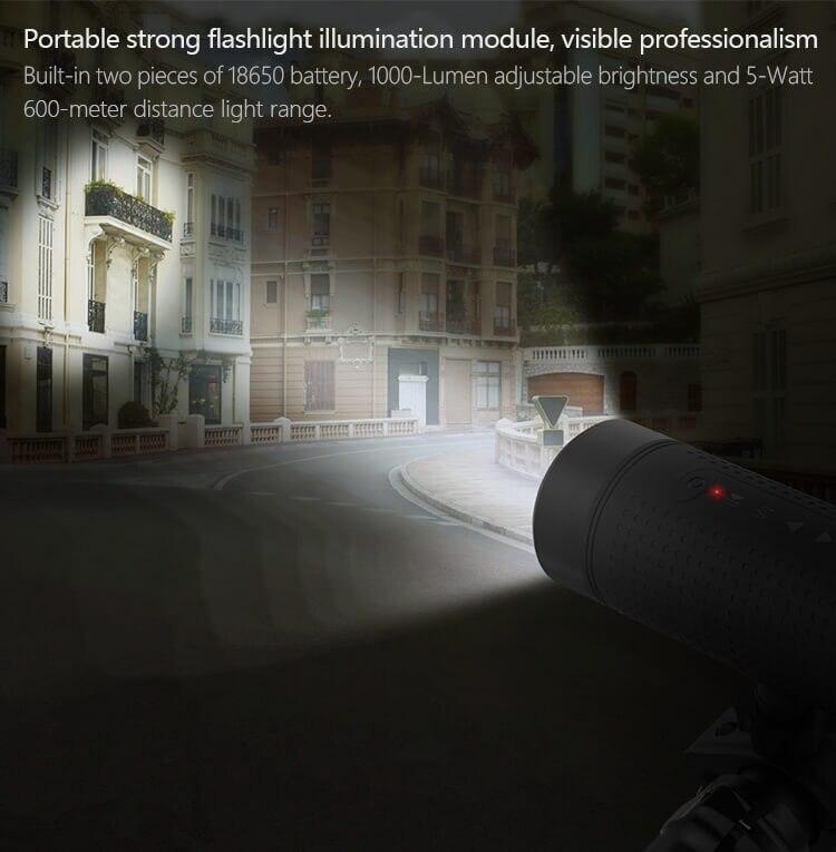 Flashlight illumination