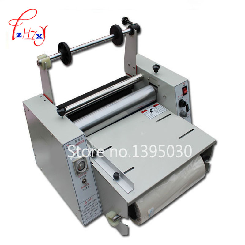 hot laminating machine,photo paper laminator DC-380 roll laminating machine cold roll laminator fm 380 paper laminating machine students card worker card office file laminator steel roll laminating machine