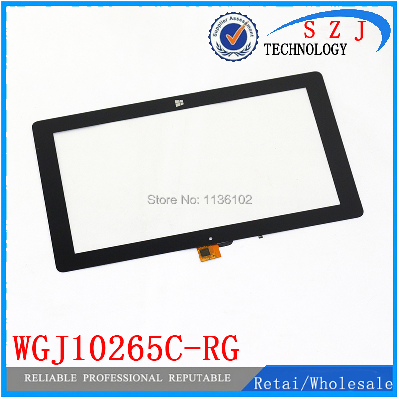 Original 10.1 inch Tablet PC WGJ10265C-RG touch screen panel Digitizer Glass Sensor Replacement Free Shipping