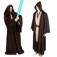 Takerlama Unisex Halloween Star Wars Jedi/Sith Cavaleiro Manto Cosplay Adulto/Crianças Com Capuz Robe Manto Cabo Cosplay Dia Das Bruxas traje