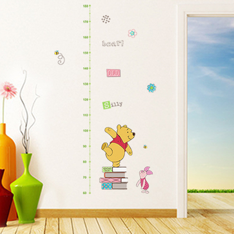Winnie The Pooh Play Nursery Wall Stickers Art Decal Removable/&Transparent