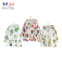 HHTU 2018 New Children Spring Autumn 100 Cotton Hoodies Baby Boys Girls Sweatshirts 1 4 Years