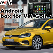 Android GPS navigation box video interface for Volkswagen Passat Golf7 Skoda Seat MQB system with cast screen