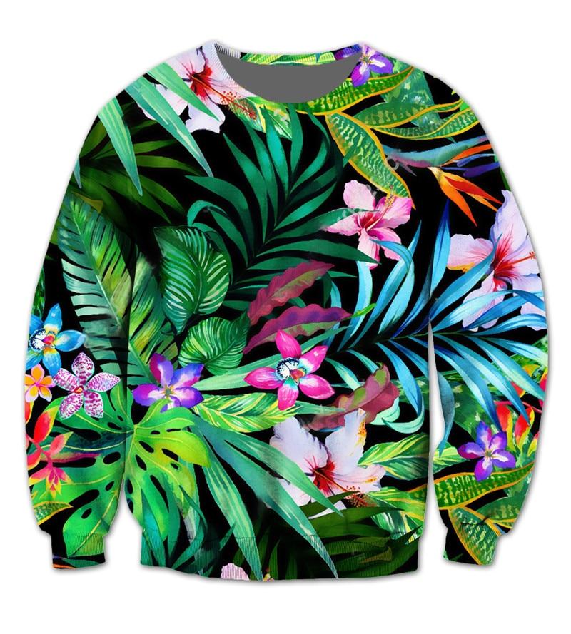 Personalizado Plus Sudaderas Floral Propio 3d Su 1 De Sublimación Americano Crear Nos Impresión Redondo 2 Cuello Tamaño qfFpET