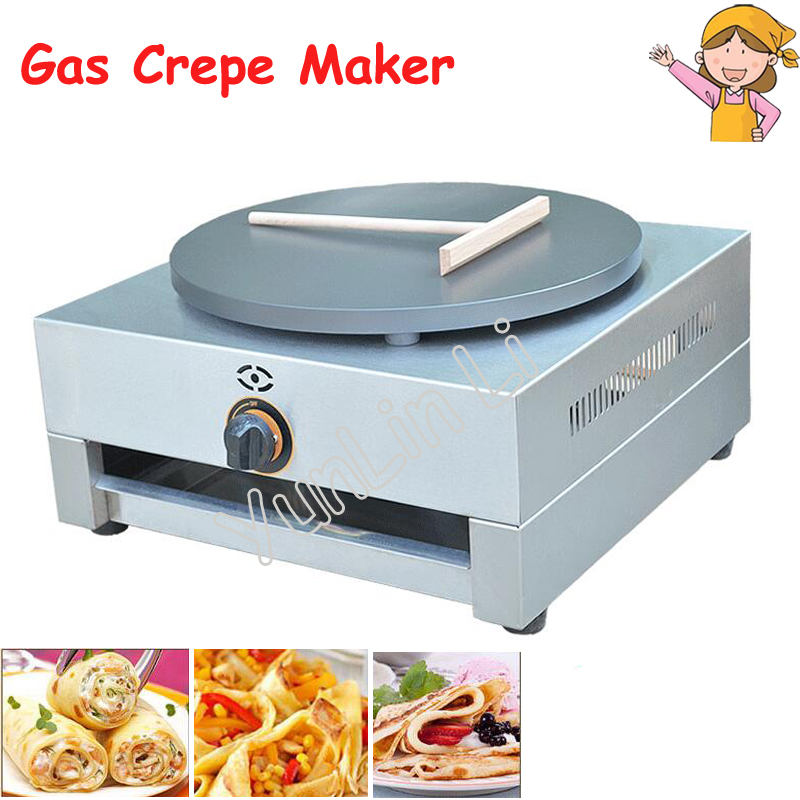 Single Plate Gas Crepe Maker Circle Diameter 400mm French Pancake Making Machine Bread Maker with English Manual FYA-1.R redken лосьон восстановитель для волос 5 5 фикс фей chemistry 250 мл