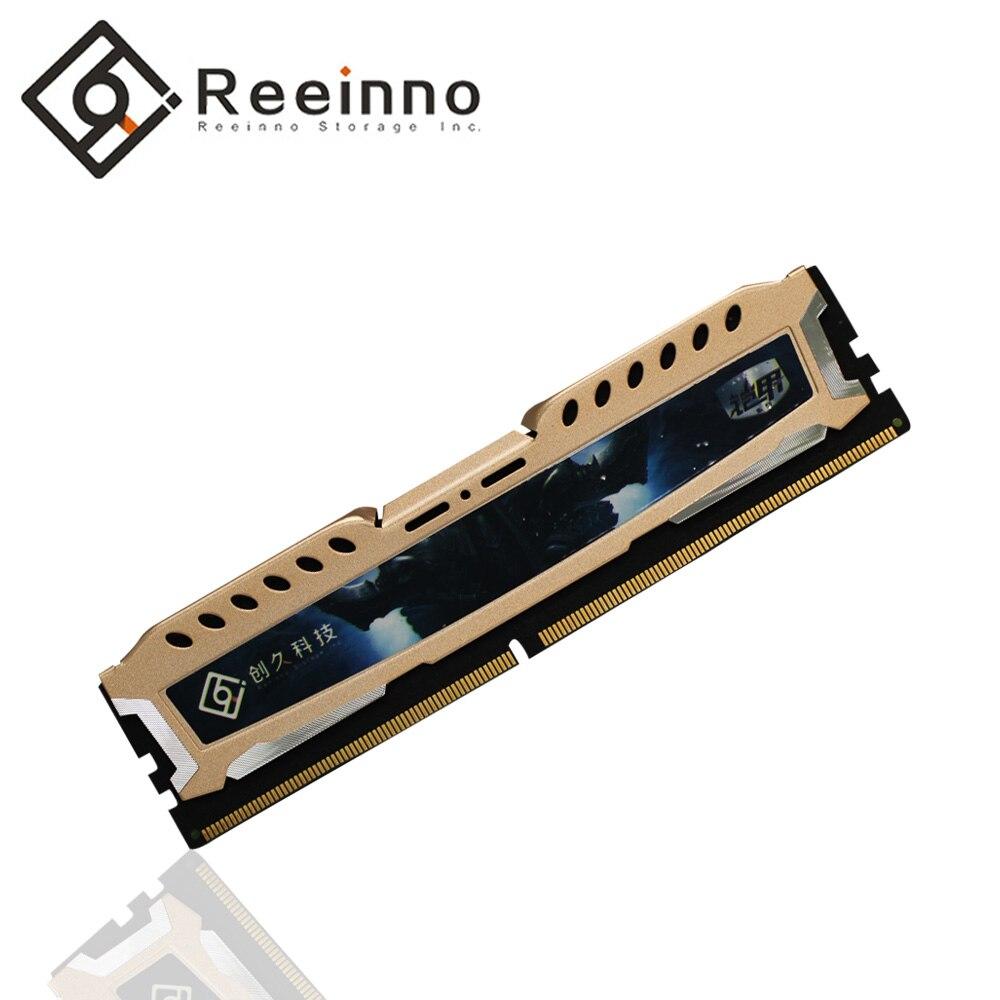 Reeinno mémoire ram 8 GB DDR4 1.2 V 2666 MHz 288pin PC4-19200 horloge CL = 19-19-19-43 pour PC jeu ram garantie à vie pour ordinateur de bureau