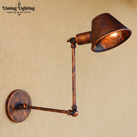 Retro Loft Edison Wall Lamp Bedroom Wall Lights For Home Up Down Rustic Industrial Wall Sconce Lamparas De Pared