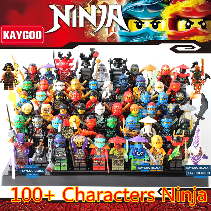 KAYGOO 2017 New Ninja Toys Blocks KAI JAY COLE Phantom Skylark Building Blocks Set Model Children