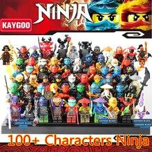 KAYGOO 2017 Novo Ninja Blocos de Construção de Brinquedos Blocos COLE JAY KAI Fantasma Cotovia Conjunto Modelo Brinquedos Para Crianças Presentes de Natal