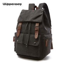 Повседневный женский холщовый рюкзак для больших девушек Студенческая